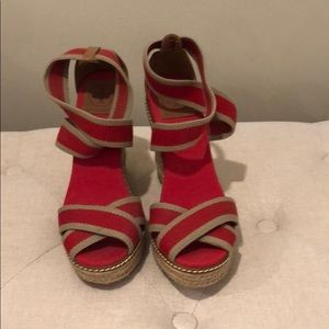 Tory Burch wedges (never worn before!)